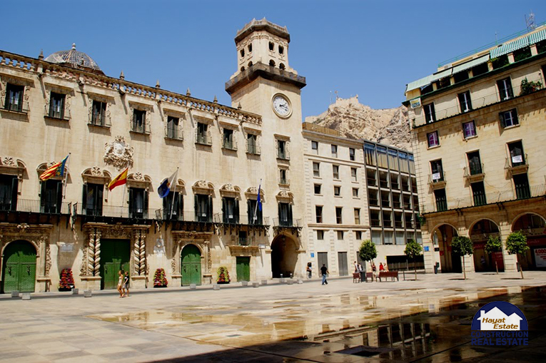 Alicante Town Hall Hayat Estate