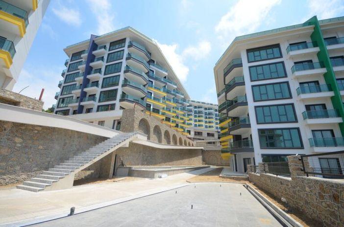 Крупный жилой комплекс в Алании