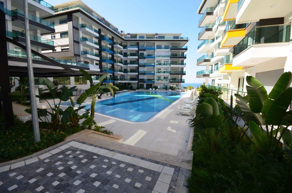 Апартаменты на берегу Средиземного моря